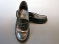 通学靴:ハルタ(HARUTA) 3048 ブラック/22.0cm