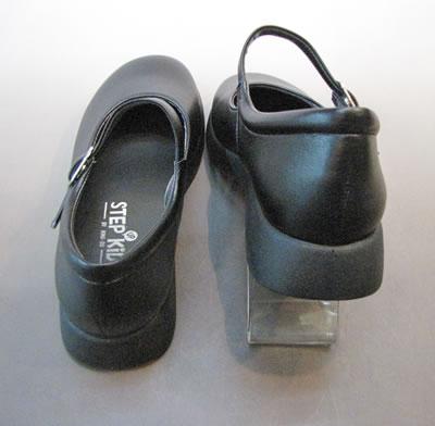 やわらかいストラップ通学靴ST2103 ステップアップキッズ(STEP UP KIDS)人工皮革:靴のキング堂オリジナル通学靴/19.0cm