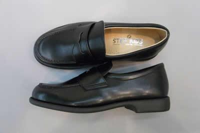 やわらかいローファーST2189 ステップアップキッズ(STEP UP KIDS)人工皮革:靴のキング堂オリジナル通学靴/18.0cm