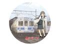鉄道むすめ「平賀ひろこ」弘南鉄道ヘッドマークレプリカ