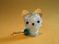 【アクセサリー/雑貨】ビーズ キーホルダー 子猫物語にゃいけるの秘密の宝物