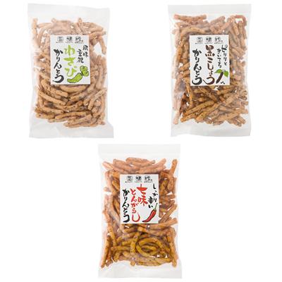 ★ 10%OFF ★【ギフト】かりんとう 小袋12種詰合せ『HAPPY 12』 各50g×12袋