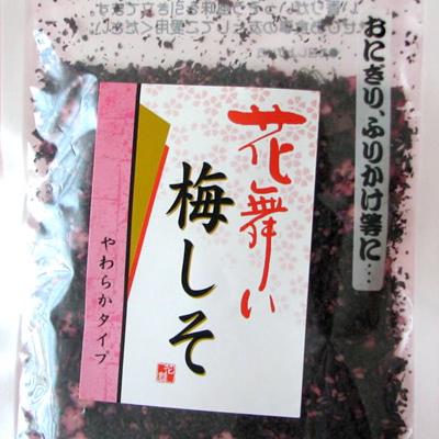 【青梅 美よしの園オリジナル】 花舞い梅しそ(ソフトふりかけ梅肉入) 80g