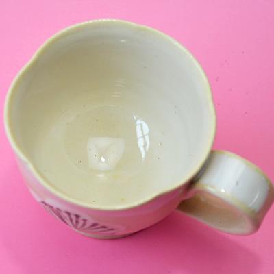 梅花紅茶(珈琲)碗 【稲井晃山 作】