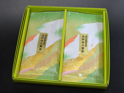「東京都優良茶品評会入賞茶B×2」詰め合わせ <贈答用箱入り>
