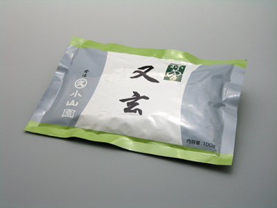 【抹茶・薄茶】又玄(ゆうげん) 100g/袋