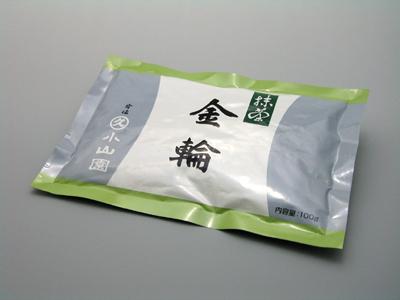 【抹茶・濃茶】金輪(きんりん) 100g/袋