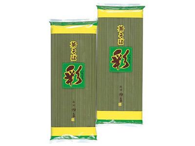 【茶そば】茶そば「彩」(500g×20袋入)