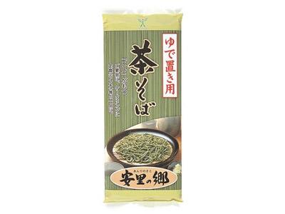 【茶そば】茹で置き用茶そば「安里の郷」(400g×30袋入)