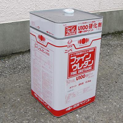 【塗料品/塗装/上塗り】ファインウレタンU−100 ホワイト 15k/s