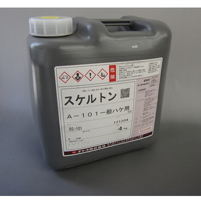 【塗料品/塗装/強力塗料剥離剤】スケルトン A-101 一般刷毛用 4kg