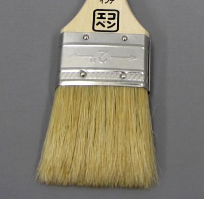 【塗装/刷毛(はけ)/ダスター】エコペン塗装用短柄ラスター 2インチ