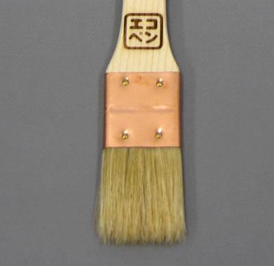 【塗装/刷毛(はけ)】エコペン目地刷毛(はけ) 豚毛平
