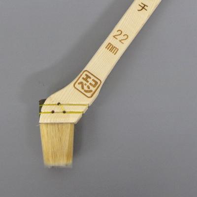 【塗装/刷毛(はけ)】エコペン ダ・ヴィンチ スミ切り 22mm