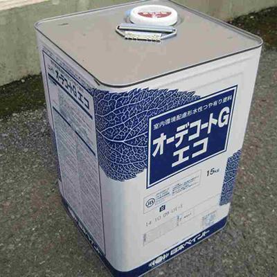 【塗料品/水性】オーデコートGエコ 白 15kg