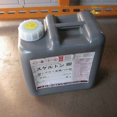 【塗料品/剥離剤】スケルトン M-201 金属刷毛用 4kg