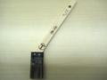 【塗装/刷毛(はけ)】塗来 ニス用 銅巻 筋違/赤毛 30mm