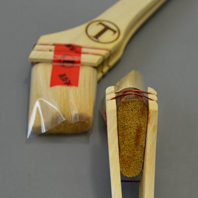 【塗装/刷毛(はけ)/東京マルテー祭記念】 祭刷毛 筋白 15号40mm/1本