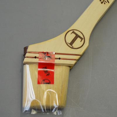 【塗装/刷毛(はけ)/東京マルテー祭記念】 祭刷毛 筋白 20号50mm /1本