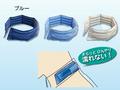 【熱中症対策/首用冷却用品】涼感ワーククーラー /ブルー