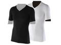 【熱中症対策/冷感衣類】BT 冷感 半袖Vネックシャツ /ブラックM