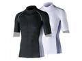 【熱中症対策/冷感衣類】BT 冷感 消臭半袖ハイネックシャツ /ブラックM