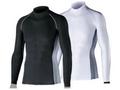【熱中症対策/冷感衣類】BT 冷感 消臭長袖ハイネックシャツ /ブラックM