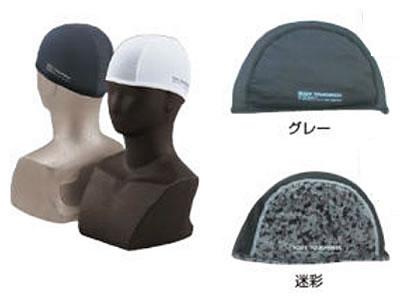 【熱中症対策/冷感衣類】BT 冷感 消臭ヘッドキャップ /ブラック