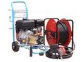 ★ 5%OFF ★【塗装/機械・その他】開放型高圧洗浄機 JA1513L 標準セット