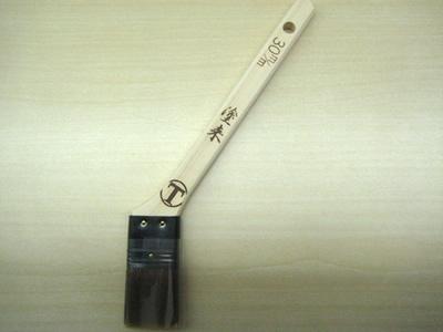 【塗装/刷毛(はけ)】塗来 ニス用 銅巻 筋違/赤毛 40mm