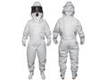 【熱中症対策/虫よけ用品】冷却ファン付き蜂防護服 ホーネット1(手袋セット)