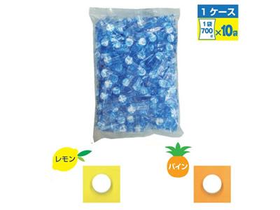 【熱中症対策/飴類・給水飲料】塩タブレット レモン味/パイン味 1袋(700g)×10袋