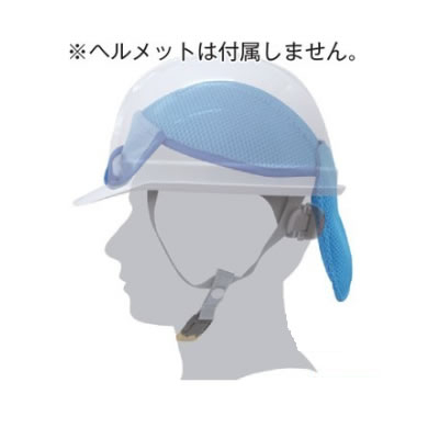 【熱中症対策/頭・首用冷却用品】クーリングヘルパッド