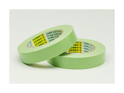 【養生品】吹付塗装用 布粘着テープ カモイNo.6800 19mm×25m(60巻入)